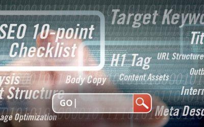 10-Point Checklist: SEO