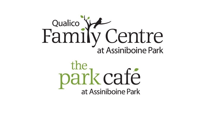 Qualico Family Centre and The Park Café logo designed by 6P Marketing