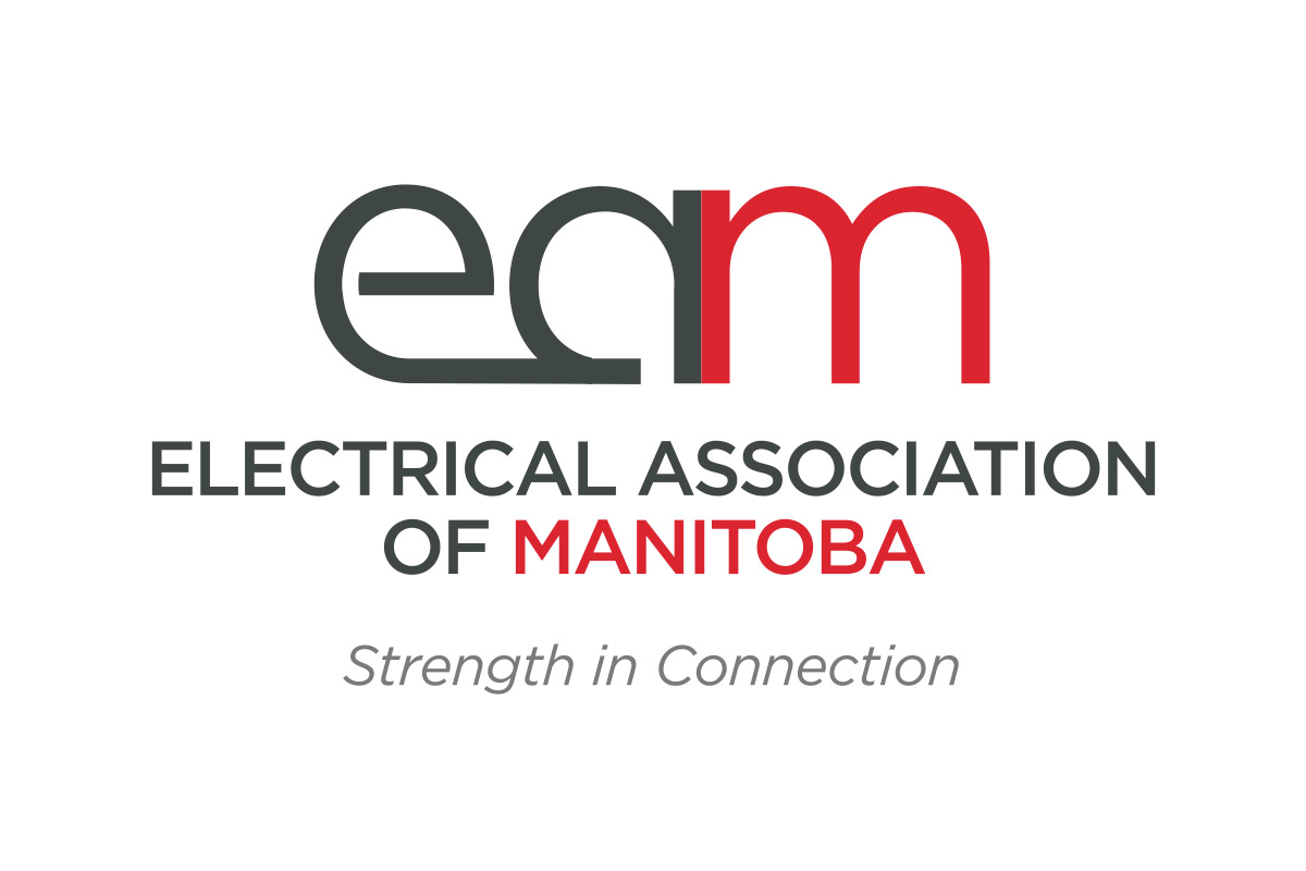 Electrical Association of Manitoba (EAM) logo designed by 6P Marketing