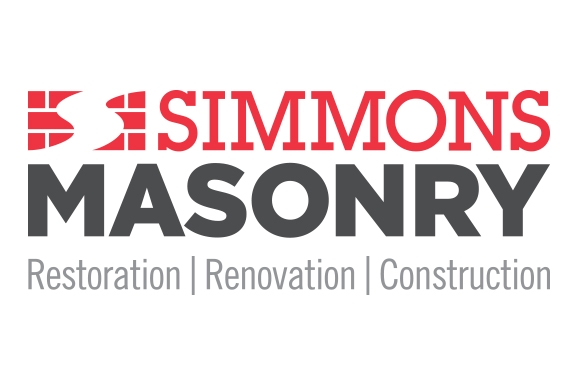 Simmons Masonry logo designed by 6P Marketing