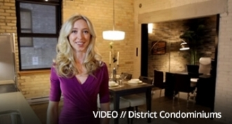 Promotional video created by 6P Marketing for District Condominiums