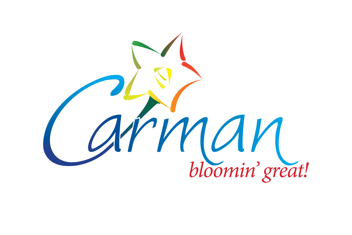 Carman logo designed by 6P Marketing