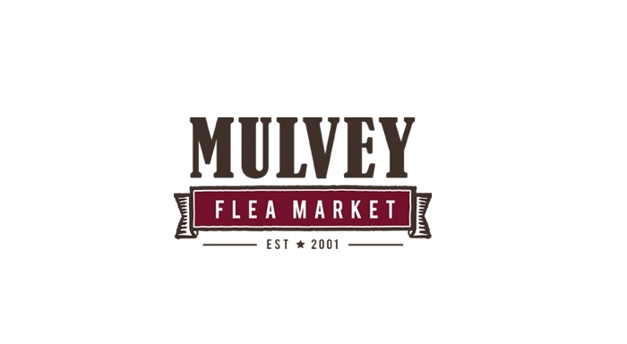 Mulvey Flea Market logo designed by 6P Marketing