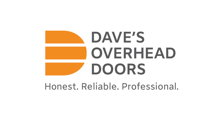 Dave's Overhead doors logo designed by 6P Marketing