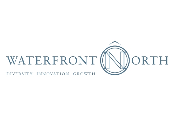Waterfront North logo designed by 6P Marketing