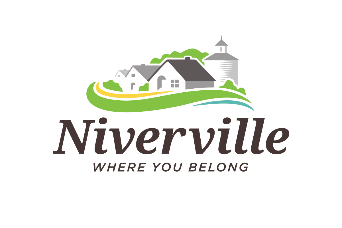 Niverville logo designed by 6P Marketing