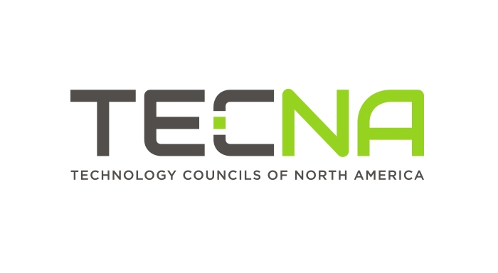 Technology Councils of North America (TECNA) logo designed by 6P Marketing