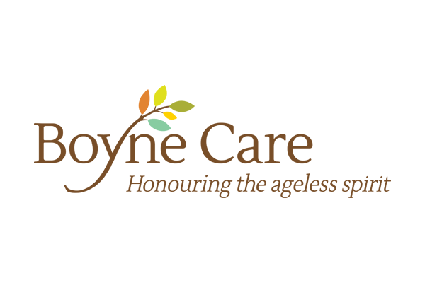 Boyne Care logo designed by 6P Marketing