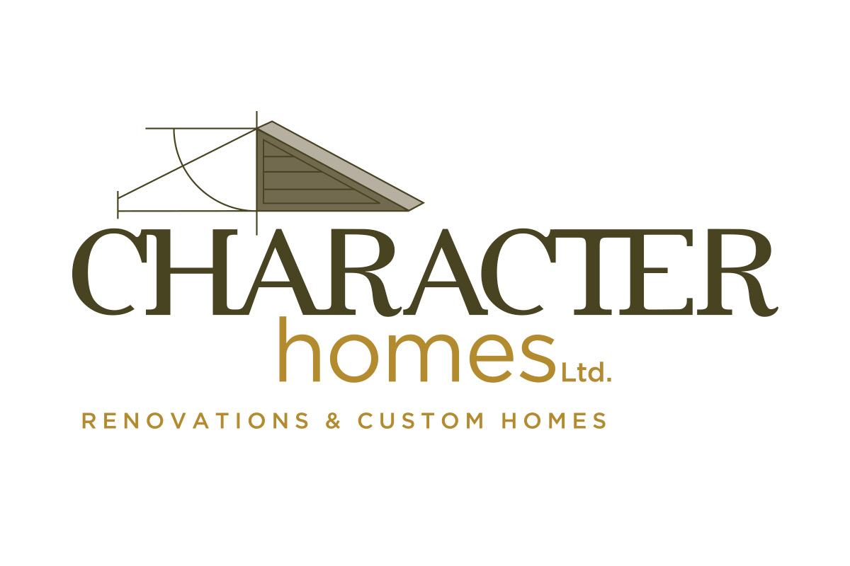 Character Homes logo designed by 6P Marketing