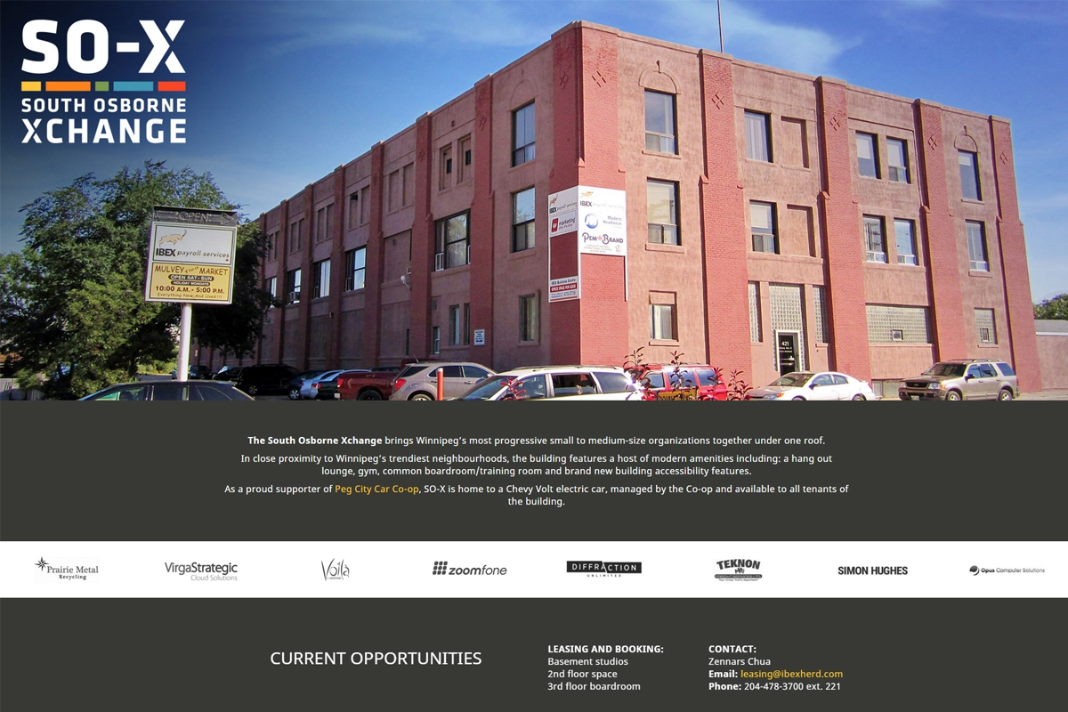 South Osborne Xchange website designed by 6P Marketing
