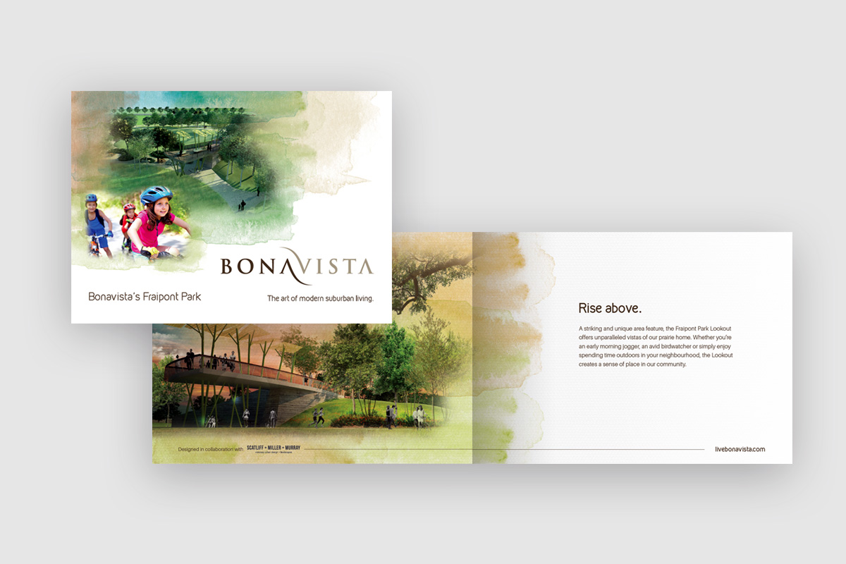 Brochure designed by 6P Marketing for Bonavista's new development program