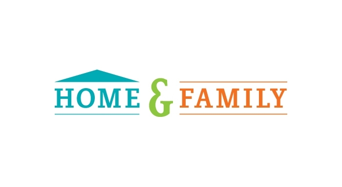 Home & Family logo designed by 6P Marketing