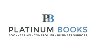 Platinum Books logo designed by 6P Marketing