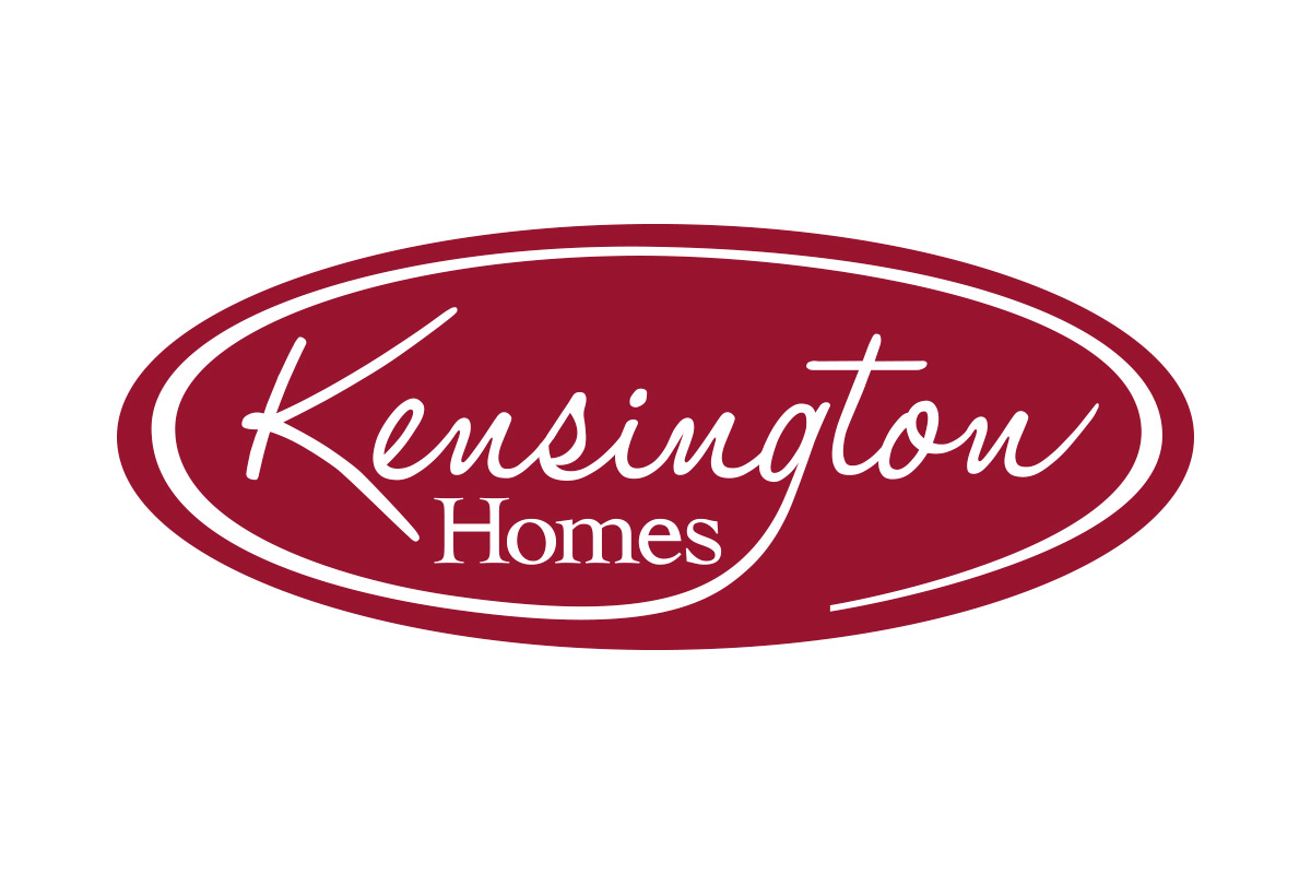 Kensington Homes logo designed by 6P Marketing