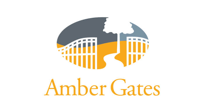 Amber Gates logo designed by 6P Marketing