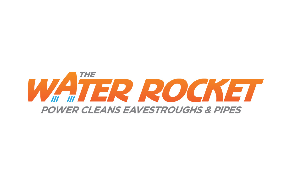 The Water Rocket logo designed by 6P Marketing