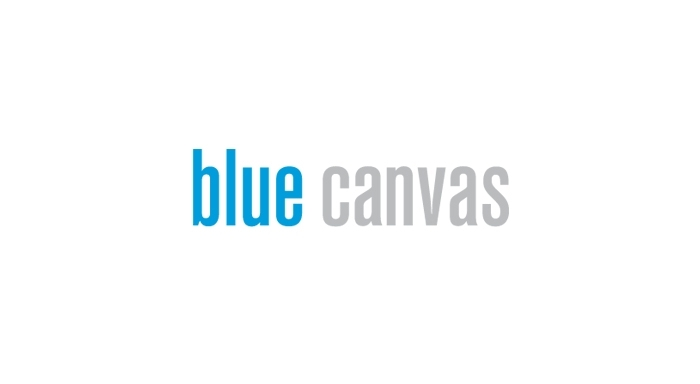Blue Canvas logo designed by 6P Marketing