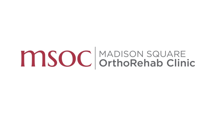 Madison Square OrthoRehab Clinic (MSOC) logo designed by 6P Marketing