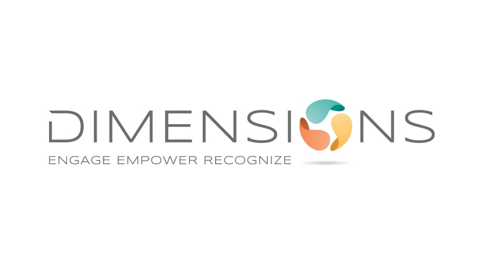 Dimensions logo designed by 6P Marketing