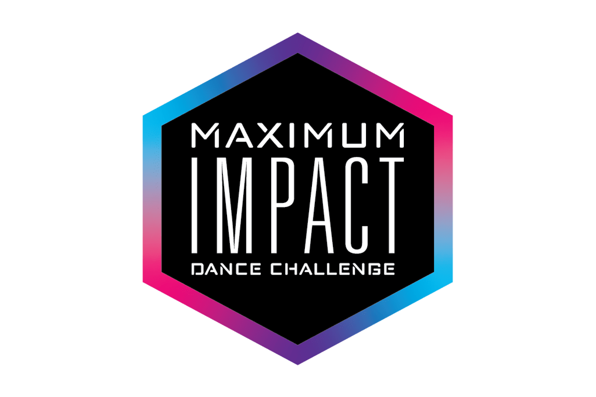 Maximum Impact Dance Challenge logo designed by 6P Marketing