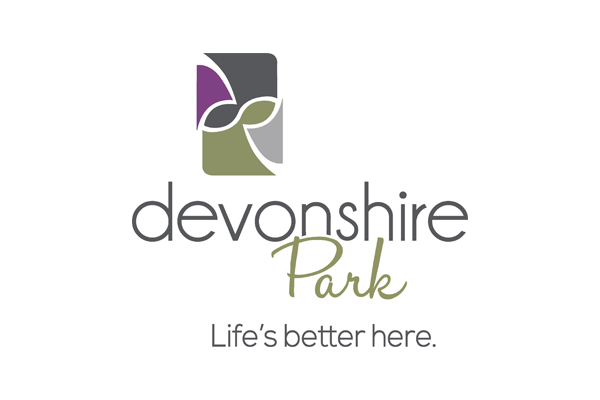 Devonshire Park logo designed by 6P Marketing