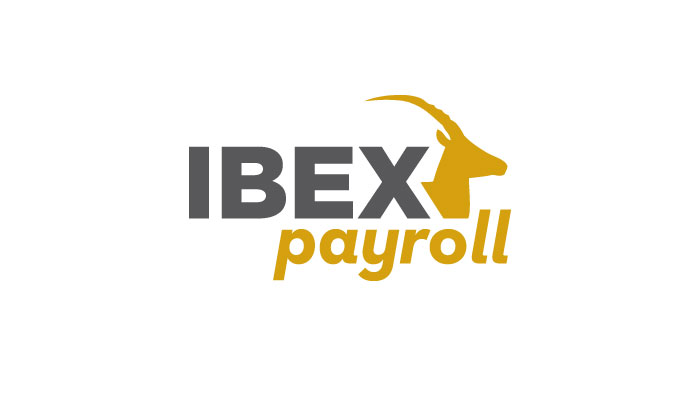Ibex Payroll logo designed by 6P Marketing