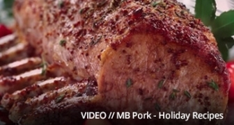 Holiday bumper video created by 6P Marketing for Manitoba Pork