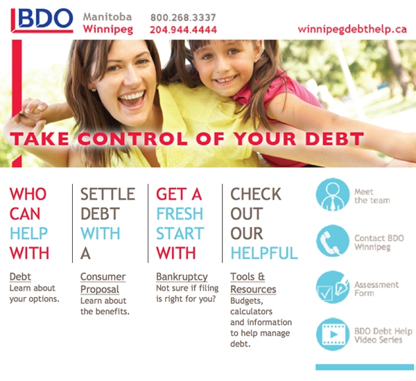 BDO email newsletter designed by 6P Marketing