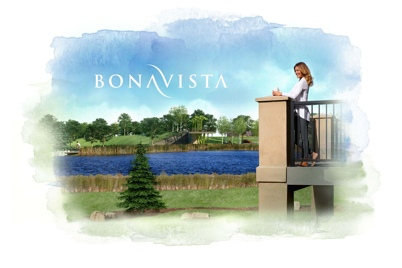 Google display ad creative designed by 6P Marketing featuring Genstar's Bonavista community