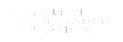 Canadian Canola Growers Association white logo