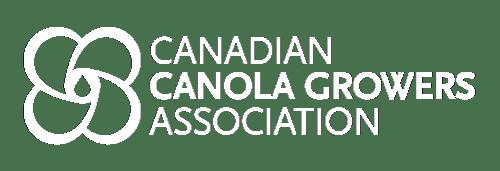 Canadian Canola Growers Association white logo