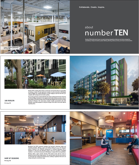 An integrated website, blog, and email marketing program for Number TEN designed by 6P Marketing