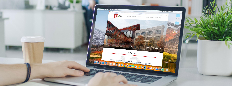 Website designed by 6P Marketing for Number TEN
