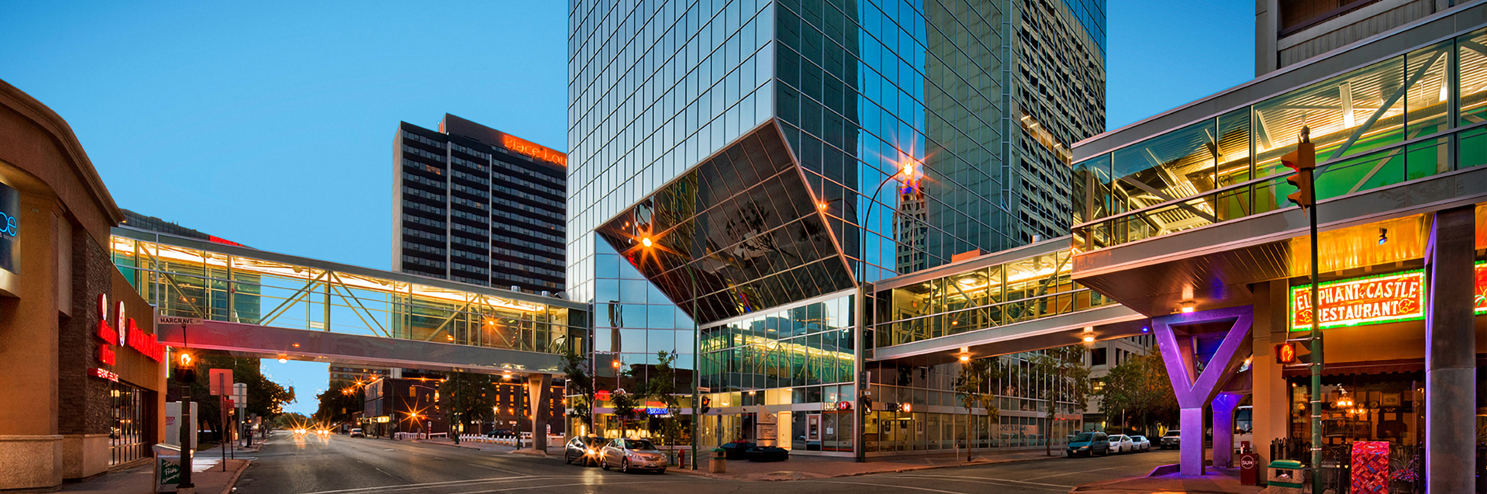 A striking creation from Number TEN, The RBC Convention Centre Winnipeg expansion project