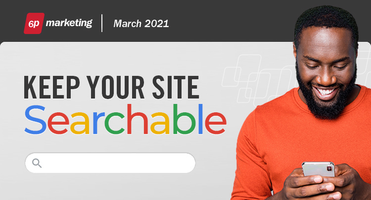 6P Marketing Blog Keep your site searchable